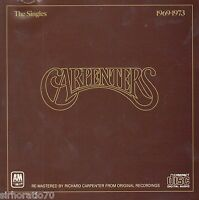 THE CARPENTERS The Singles 1969 - 1973 CD