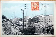 1929 Three Rivers/Trois Rivieres, Quebec PQ Postcard - International Paper Mills