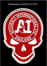 accuracy international skull patch