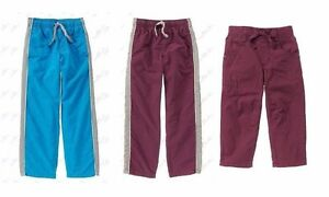 Gymboree boys Gymster Jersey Lined Athletic Sport active Pants 2 4 6 7