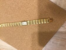 Anne Kline Ladies Gold Colour Watch In Lovely Condition Nice Braclet