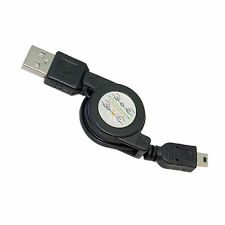 HQRP USB to Mini USB Cable for Canon VIXIA HF R10, HF R11, HF R20, HF R100