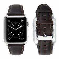 iBazal Kompatibel mit Apple Watch Series 4 Armband 44mm Leder Apple Watch Arm...