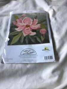 long stitch tapestry kit …Derwentwater Designs …Peony