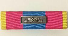 Rappel de médaille DEFNAT Défense Nationale OR avec agrafe TROUPES AÉROPORTÉES