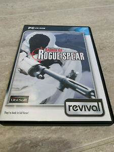Tom Clancy's Rainbow Six - Rogue Spear PC CD-ROM Ubisoft 15+ Great Condition