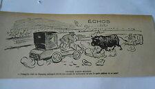 1903  Caricature Print Course Paris-Madrid Taureau