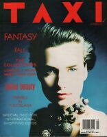Taxi Fashion magazine September 1989 Lucia Debrilli Cynthia Rybakoff 053019DBE