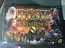 RISK Lord Of The Rings Trilogy Edition Game Hasbro Complete NIB