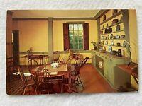 Kitchen, Moffatt-Ladd House, Portsmouth New Hampshire Vintage Postcard