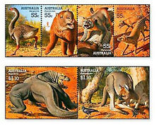 AUS0826 wild animals 6 stamps mint MNH AUSTRALIA 2008