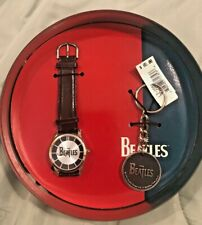 1997 Beatles Fossil Collectors Series Watch Set w/keychain NEW Original Box/Case