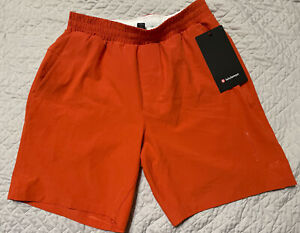 "Lululemon Channel Cross Swim Short 7"" Small Orange"