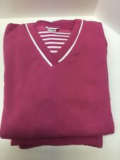 Ladies American Sweetheart sweat outfit 2 piece dark pink size XL