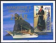 Faeroer/Faroer postfris 1997 MNH Block 9 - Koningin Margrethe II (S0767)