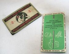 2 Vintage Needle Packs Polly Prim National Handcraft Fad of the Month Club T49