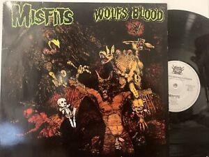 Misfits – Earth A.D. / Wolfsblood LP 1984 Aggressive Rockproduktionen – AG 0024