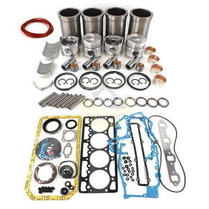 4D94-2 4D94-2D 4D94 Engine Rebuild Kit For Komatsu PC60-1 Excavator Dozer Loader