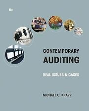 Contemporary Auditing: Real Issues and Cases, Michael C. Knapp, 0324303254, Book