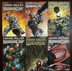 Avatar Comics Frank Miller RoboCop #1-7