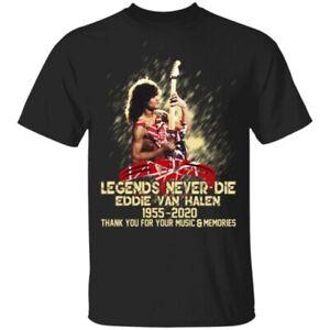 Unisex T-Shirt Eddie Van Halen Guitarist Legend So Cool Bella /& Canvas