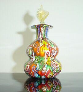 Murano Art Glass Perfume Bottle Italian Glass Perfume Bottle