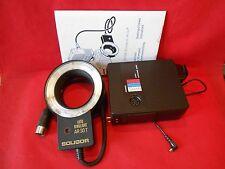Soligor auto ringlight ar-20 ar20 ar 20 macro macro anillo relámpago relámpago Flash-en su embalaje original