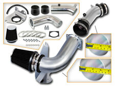 BCP BLACK 99-04 Ford Mustang 3.8L V6 Cold Air Intake Racing System + Filter