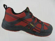 KEEN Durham Aluminum-Toe ESD Red Sz 11 M Men Work Hiking Shoes