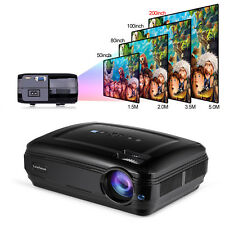 Multimedia LED Projector Home Theater Cinema 3500 Lumens 1080P 4K HDMI Projector