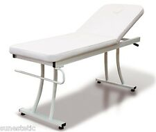 Lettino massaggio 1 snodo in metallo estetica fisioterapia ambulatorio massaggi