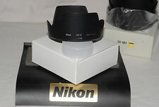 Genuine Nikon HB-35 Parasoleil à baïonnette Fit 18-200 VR AF-S lens... Vendeur Britannique