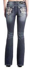 Miss Me Ladies M3294T Jeans Straight Size 32/33