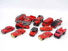 Divers 1/87 HO - Lot de 12 véhicules Pompiers Feuerwehr : Mercedes Auto Union