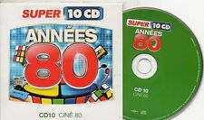 CD CARTONNE 15T  ANNEES 80  CINE  80/ SUBWAY/ROCKY3/BATMAN   NEUF NON  SCELLE