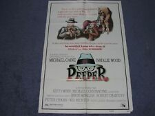 PEEPER original movie poster     NATALIE WOOD   MICHAEL CAINE