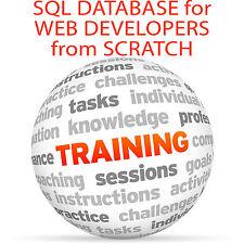 DATABASE SQL per gli sviluppatori Web da zero-Video formazione tutorial DVD