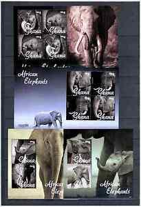 GHANA   ANIMALS  MNH