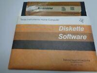 TEXAS INSTRUMENTS TI99/4A --> EDITOR / ASSEMBLER (DISKETTE PART B)