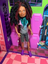 Monster High Doll - Clawd Wolf - OOAK Repaint Rerooted Doll - Great Condition
