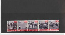 Set 5 GB Great Britain 1994 Stamps D Day 6th June 1944  Mint in folder
