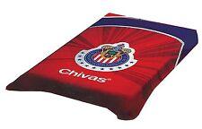 Chivas del Guadalajara Twin Size Blanket Official Licensed Colap