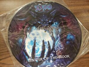 Dio Master of the Moon Picture Disc Rare Niji NEG 014 Lp