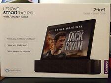 Lenovo Smart Tab P10 64GB with Amazon Alexa - Wifi Aurora Black