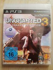 Uncharted 3 Drake's Deception PlayStation 3 Neu PS3