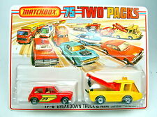 "Matchbox TwoPack 6B gelber Toe Joe & Mini ""Breakdown Set"""