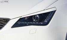 RDX Scheinwerferblenden SEAT Ibiza 6J incl SC ST Böser Blick Blenden Spoiler
