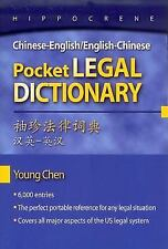 Chinese-English/English-Chinese Pocket Legal Dictionary, Paperback by Chen, Y...