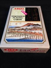 Angel HIROSHIGE Deck of Playing Cards Sealed, Stamp, Made In Japan TOKAI-DO 53's