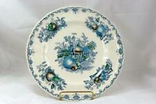 Masons Fruit Basket Blue Dinner Plate #C4892